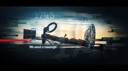 پروژه افترافکت نمایش تاریخچه Timeline Vision