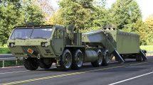مدل سه بعدی تراکتور نظامی Tractor M983