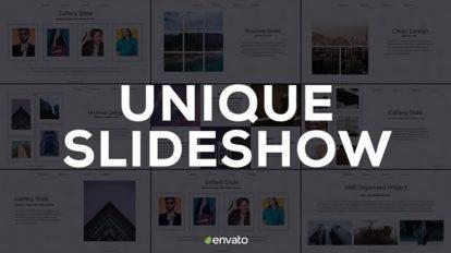 پروژه افترافکت اسلایدشو کسب و کار Unique Slideshow