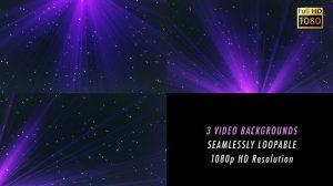 فوتیج موشن گرافیک زمینه متحرک بنفش Violet Background