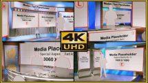 پروژه افترافکت استودیو مجازی Virtual Studio Set