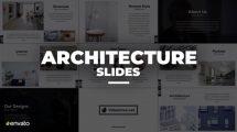 پروژه افترافکت اسلایدهای پرزنتیشن Architecture Slides