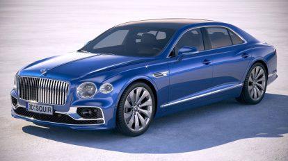 مدل سه بعدی خودرو بنتلی Bentley Flying Spur 2020