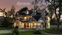 آموزش طراحی سه بعدی معماری با بلندر Blender 3D Architecture Design