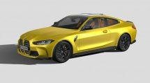 مدل سه بعدی خودرو بی ام و BMW M4 G82 2021