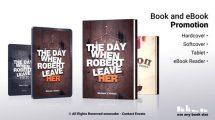 پروژه افترافکت تیزر تبلیغاتی کتاب Book and Ebook Promotion