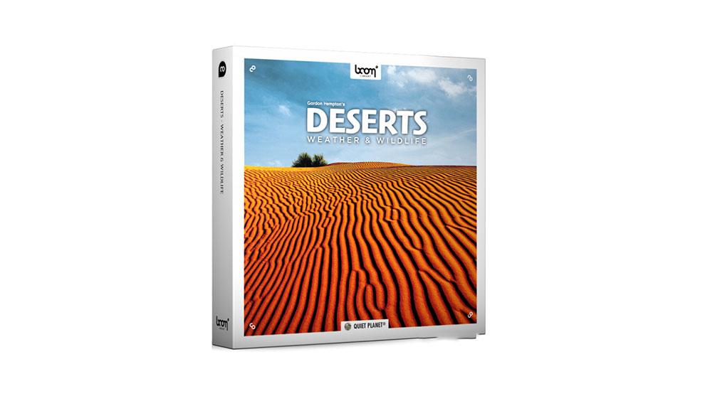 مجموعه افکت صوتی مناطق صحرایی Deserts Weather Wildlife
