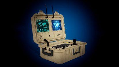 مدل سه بعدی فرستنده C-0620J Transmitter