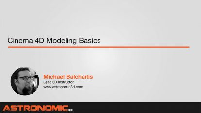 آموزش مبانی مدلسازی در سینمافوردی Cinema 4D Modeling Basics