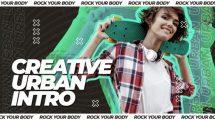 پروژه افترافکت اینترو Creative Urban Intro
