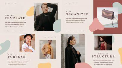 پروژه افترافکت پرزنتیشن مدرن فشن Fashion Modern Presentation