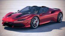 مدل سه بعدی خودرو فراری Ferrari J50 2017