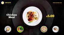 پروژه افترافکت تیزر تبلیغاتی غذا Food Promo