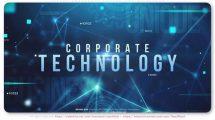 پروژه افترافکت تریلر تکنولوژی Future Corporate Technology