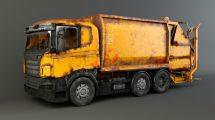 مدل سه بعدی ماشین آشغال Garbage Truck