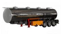 مدل سه بعدی تانکر گازوییل Gasoline Fuel Tanker