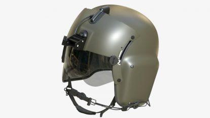 مدل سه بعدی کلاه خلبان Gentex HGU-56/P Helmet