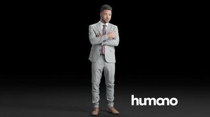 مدل سه بعدی کاراکتر مرد با لباس رسمی Elegant Business Man