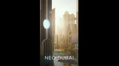 مدل سه بعدی ساختمان های دبی Kitbash 3D Neo Dubai
