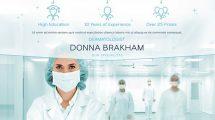 پروژه افترافکت اسلایدشو مرکز خدمات درمانی Medical Center Slideshow