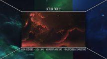 مجموعه فوتیج موشن گرافیک کهکشان نبیولا Nebula Pack IV