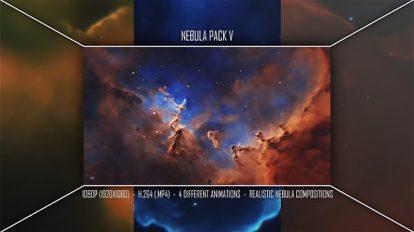 مجموعه فوتیج موشن گرافیک کهکشان نبیولا Nebula Pack V