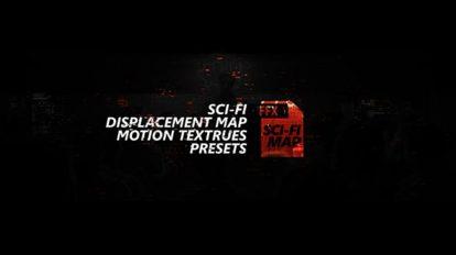 مجموعه پریست افترافکت تکسچر سطوح سخت Sci-Fi Displacement Map