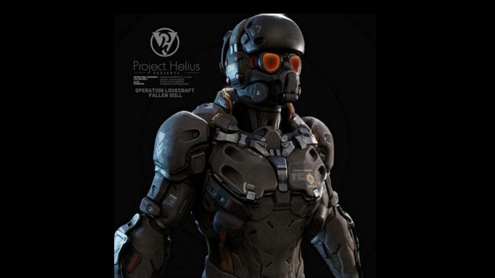 مدل سه بعدی جنگجو مکانیکی Sci-Fi Warrior