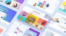 پروژه افترافکت اسلایدهای پرزنتیشن وبسایت Website Promo Slides Presentation