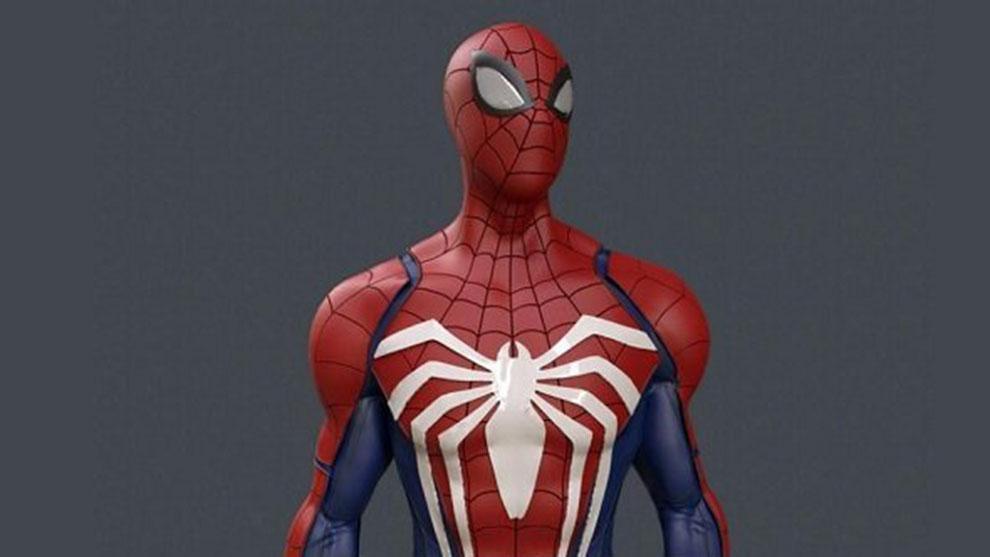 مدل سه بعدی کاراکتر اسپایدرمن Spiderman