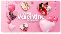 پروژه افترافکت اسلایدشو ولنتاین Spring Fashion Slideshow