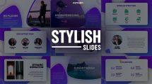 پروژه افترافکت اسلایدهای پرزنتیشن Stylish Slides