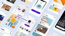 پروژه افترافکت تیزر تبلیغاتی اپلیکیشن App Pro Application Promo