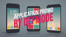 پروژه افترافکت تیزر تبلیغاتی اپلیکیشن Application Promo