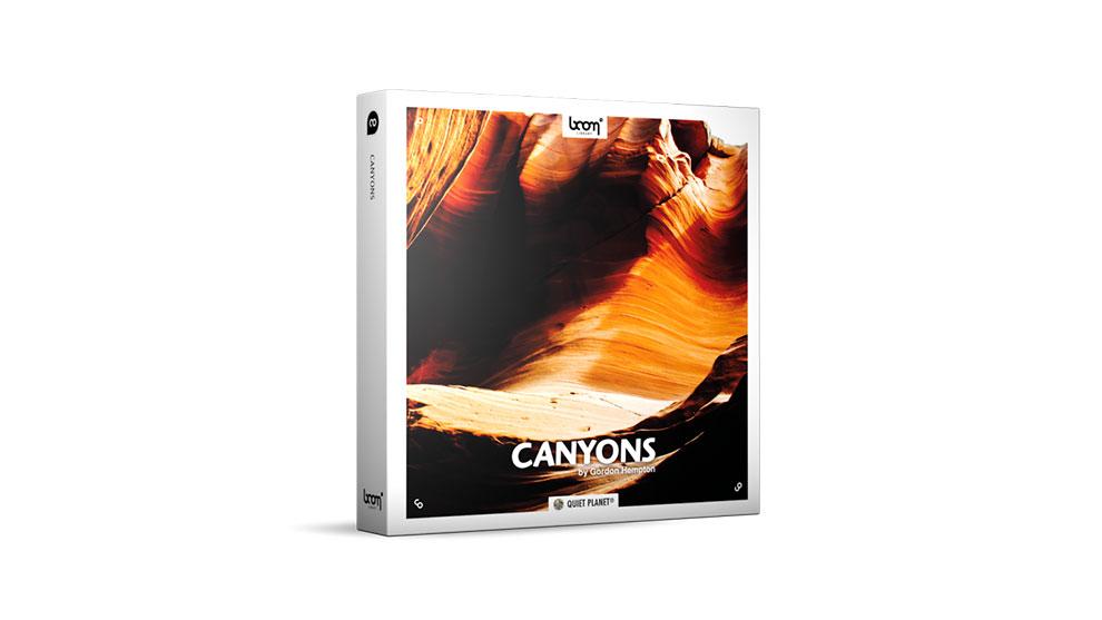 مجموعه افکت صوتی محیطی دره ها Canyons Surround