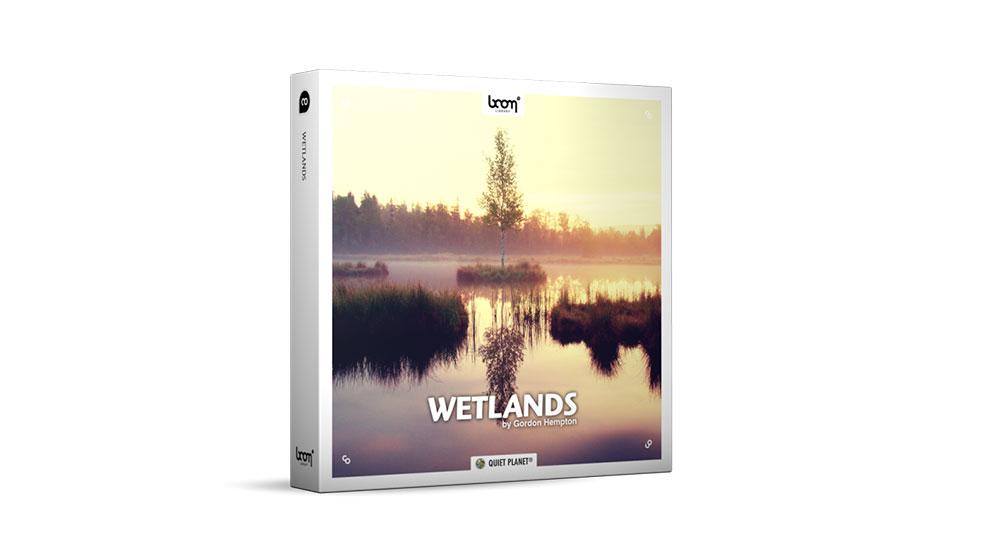 مجموعه افکت صوتی مناطق آبی Wetlands Stereo