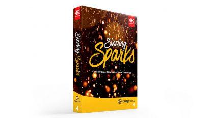 مجموعه فوتیج جرقه Sizzling Sparks
