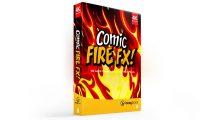 مجموعه فوتیج موشن گرافیک کمیک آتش Comic Fire FX