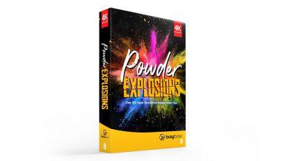مجموعه فوتیج انفجار پودری Powder Explosions