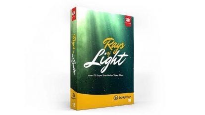 مجموعه فوتیج افکت پرتوهای نور Rays of Light