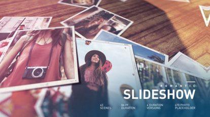 پروژه افترافکت اسلایدشو سینمایی Cinematic Slideshow