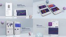 پروژه افترافکت پرزنتیشن اپلیکیشن Corporate App Presentation