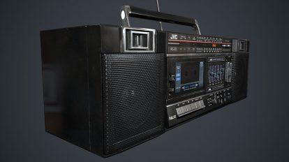 مدل سه بعدی ضبط صوت JVC PC-30