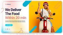 پروژه افترافکت تیزر تبلیغاتی خدمات باربری Logistics Delivery Service Promo