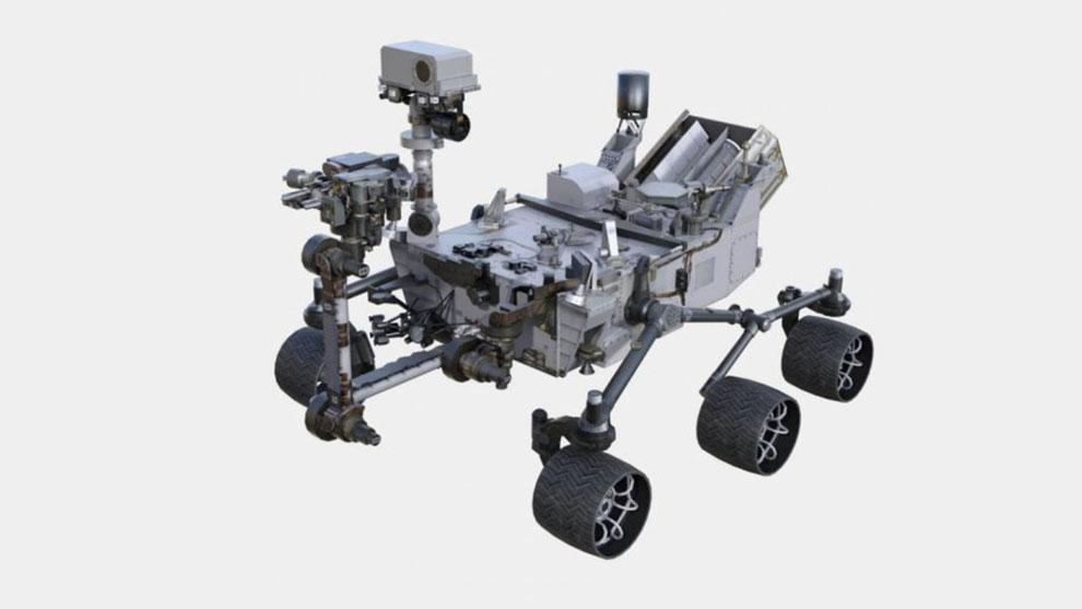 مدل سه بعدی کاوشگر فضایی ناسا NASA Curiosity Rover