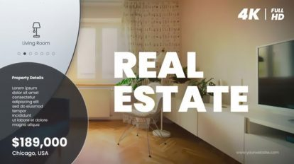 پروژه افترافکت تیزر تبلیغاتی مشاور املاک Real Estate