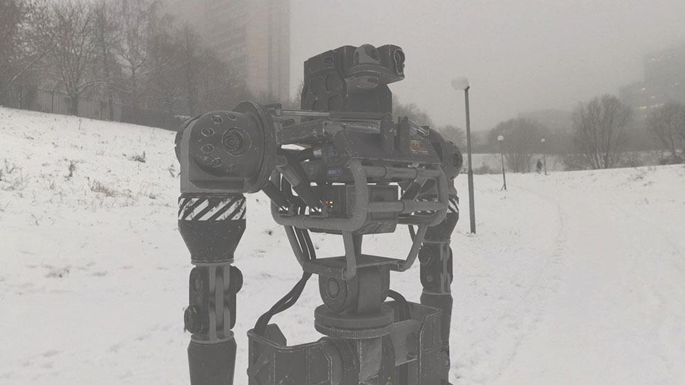 مدل سه بعدی ربات کنترل شورش Riot Control