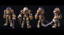 مدل سه بعدی لباس فضانورد فانتزی Space Suit