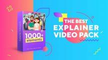 پروژه افترافکت اجزای ساخت تیزر تبلیغاتی The Best Explainer Pack