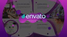 پروژه افترافکت پرزنتیشن Wave Presentation